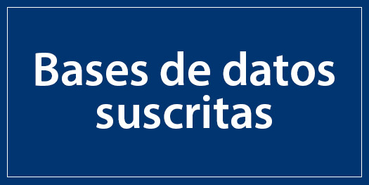 Bases de datos suscritas